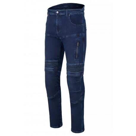 SM RACE WEAR STREET  BLUE jeansy motocyklowe spodnie męskie